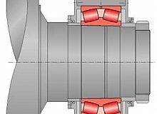 LYC辊压机圆锥孔轴承安装